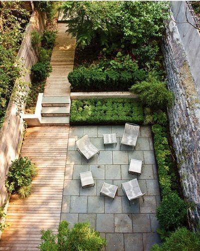 Garden Concrete Terrace