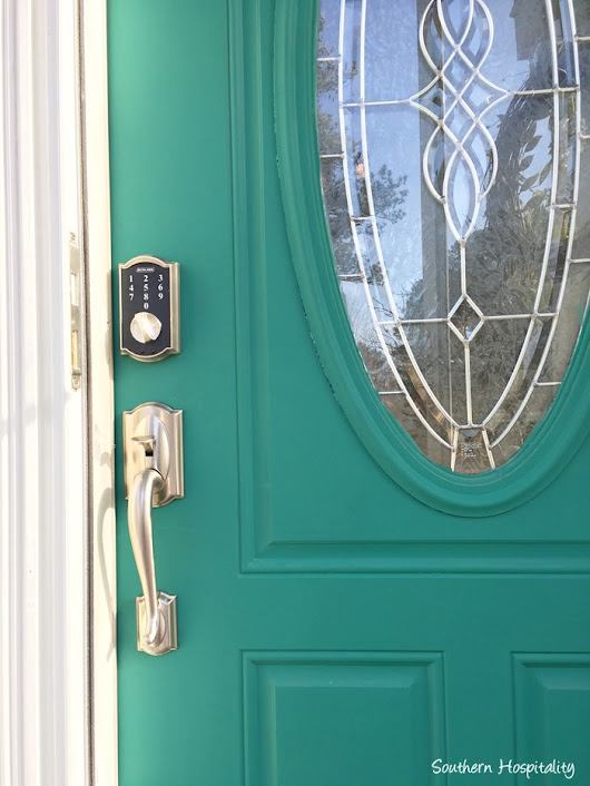 New Doorknobs & Locks from Schlage - Southern Hospitality