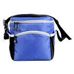 Westfield Outdoor CLR016 Blue/Grey Soft-Sided Cooler, Blue/Gray, 24-Can
