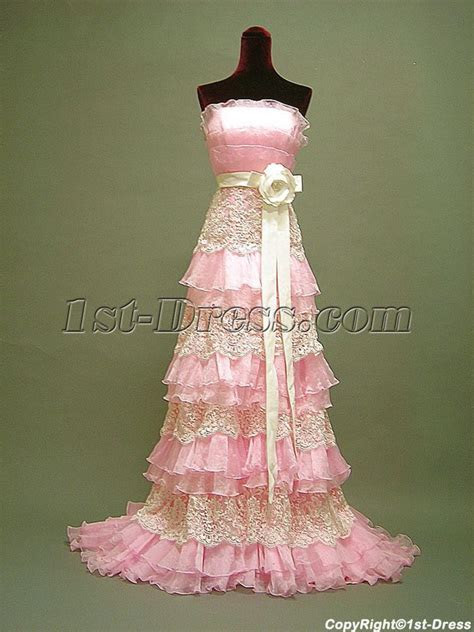 Pink Tradition Masquerade Ball Gown 3057:1st dress.com