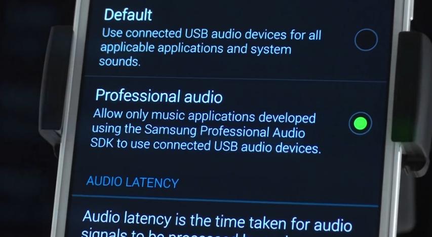 I Rig samsung professional Audio