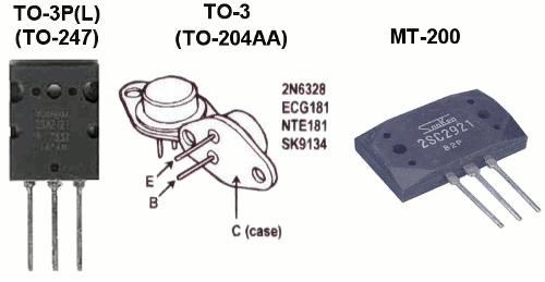 Pinos Transistores