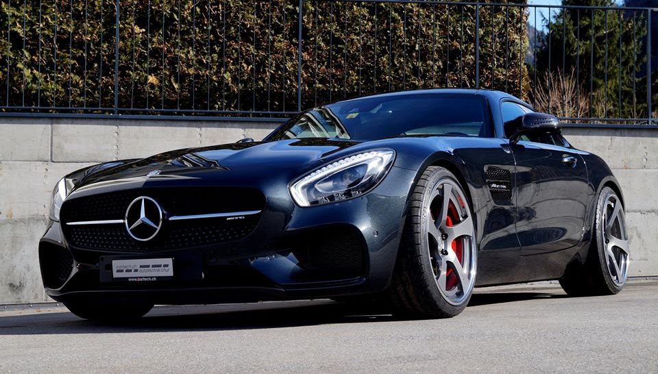 Cartech Mercedes AMG GT Is the Definition of Dope