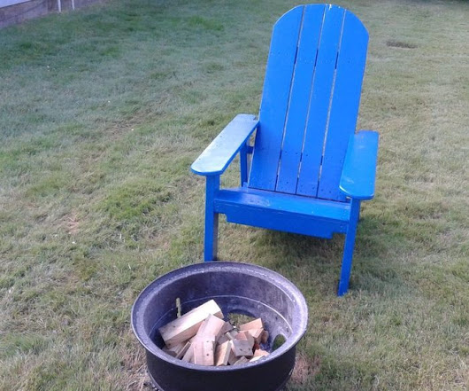 Adirondack Style Chair (pallet wood)