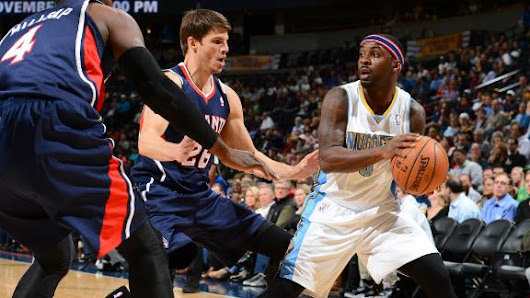 Lawson's 23 leads Nuggets past Hawks, 109-107