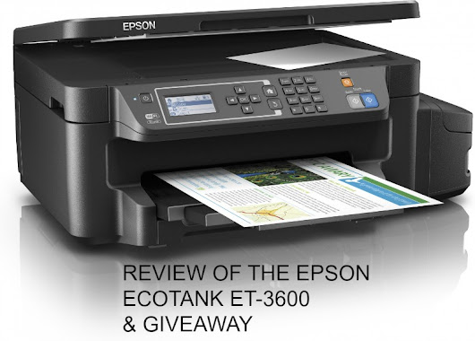 Review of The Epson EcoTank ET-3600 & Giveaway - U me and the kids
