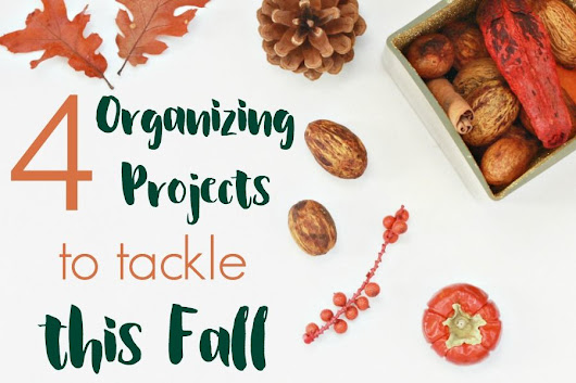 5 Fall Organizing Projects to FINALLY Tackle This Year