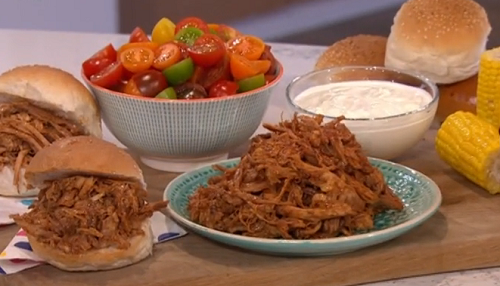 Phil Vickery pulled pork TV dinner recipe on This Morning ...