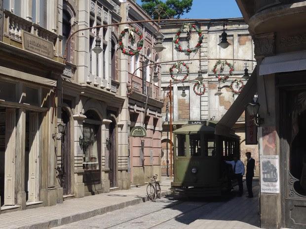 Cidade cenográfica de 'Joia rara' (Foto: Site Joia Rara/Fábio Rocha)