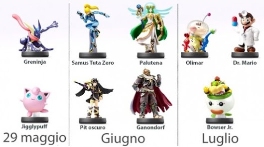 Amiibo, annunciate le nuove statuette - Opengeek.it