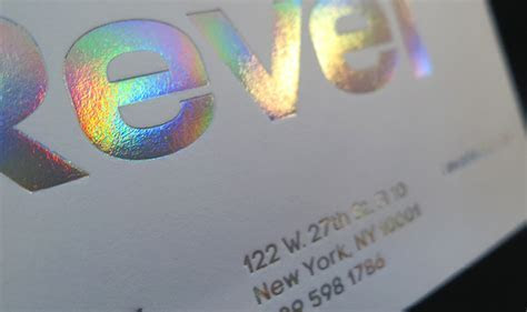 Holographic Foil Stamp Printing NYC   Publicide Inc
