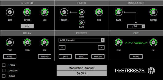Glitchmachines introduces Hysteresis - Free Glitch Delay Plugin For Mac and Windows