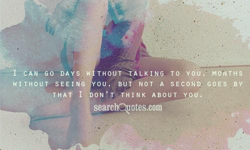 A Day Without Talking To You Quotes Quotations Sayings 2019