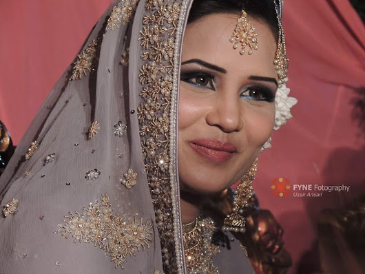 Bride: A woman with a fine prospect of happiness behind her! by Uzair Ansari
