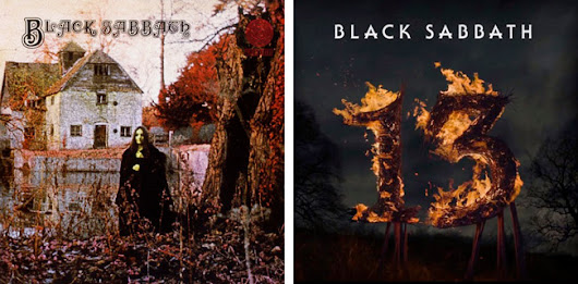 Comparing bands first and latest album covers article now online - Bandmill