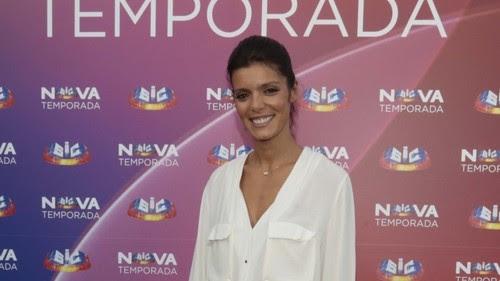 Andreia na apresentação da Nova Temporada SIC