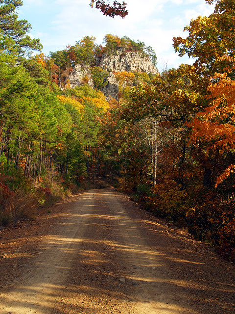 The road to Flatside Pinnacle
