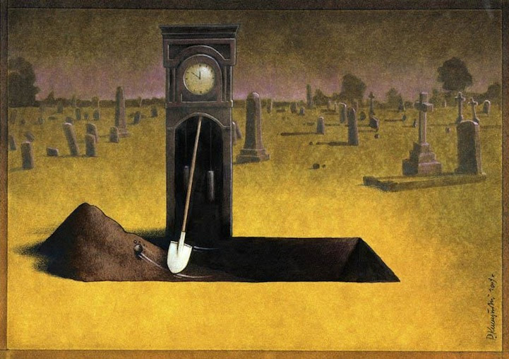 Pawel Kuczynskis Illustrations Will Make You Think Hard About The