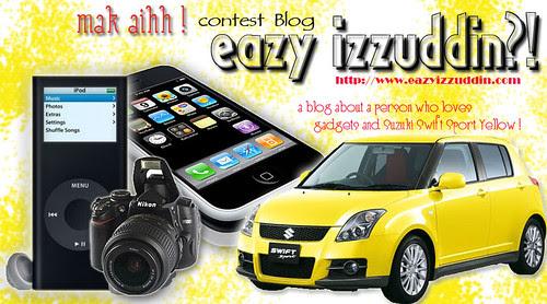 Mak Aih ! Contest Blog Eazy Izzuddin ?!