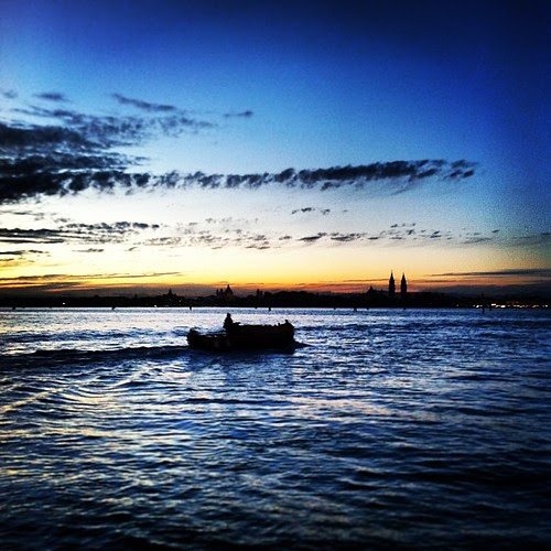 A speedboat ride through Venice during the sunset is probably pretty epic.