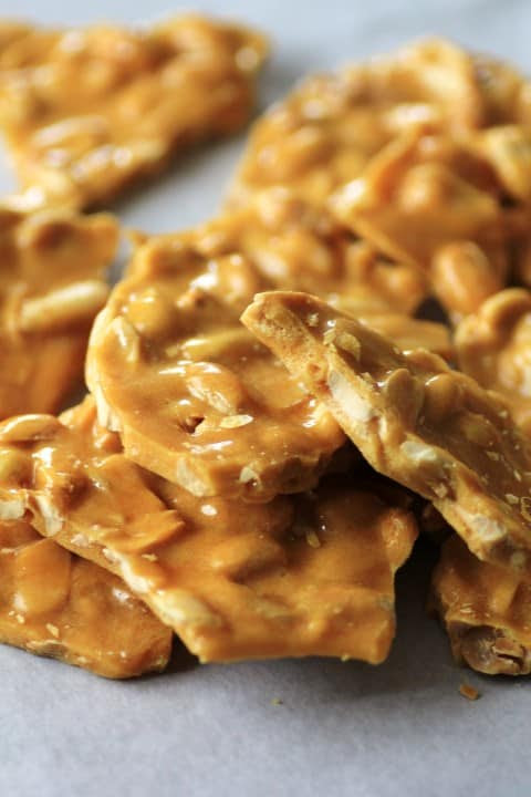 24 Candy Ideas:Peanut Brittle