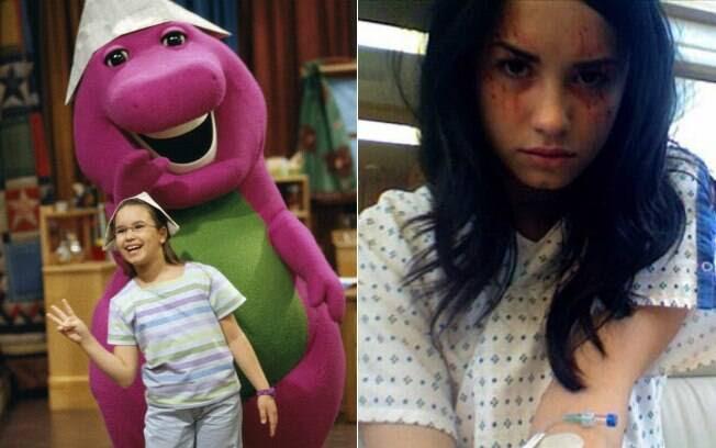 Antes e depois: Demi Lovato no elenco da série