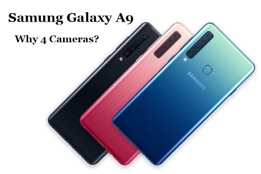 Samsung Galaxy A9: World's First Phone with 4 Rear Cameras
