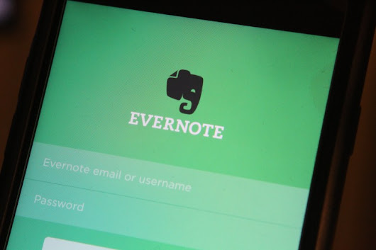 Evernote for iOS now lets you sketch within notes using your finger