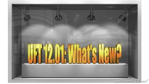 New Features in UFT 12.01
