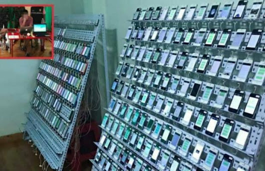 100's Of iPhone's Found in Thailand's Click Farm - Unshootables
