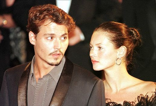 LE FASHION BLOG JOHNNY DEPP KATE MOSS JOHNNY AND KATE INSPIRATION EVENT FUR STRAPLESS TOP 8