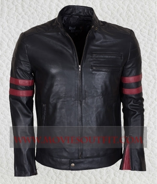 Mens Black Leather Jacket | Celebrity Leather and Biker Jackets