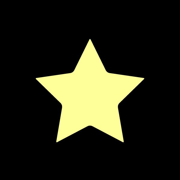 かわいい星の無料イラスト商用フリー オイデ43