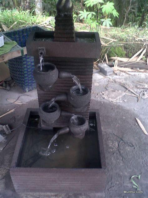 jual kerajinan batu kolam air mancur luas  cm tinggi