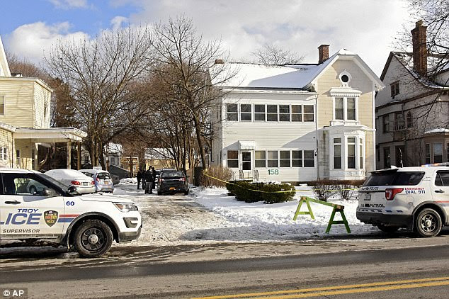 Troy Police sources said the family, identified as two young siblings, their mother and the woman's lesbian partner, appear to have been targeted for an unknown reason