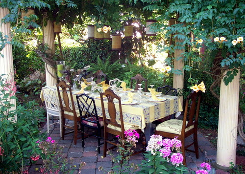 jary ralston eclectic patio