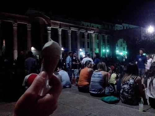 Un gelato alle Colonne by Ylbert Durishti