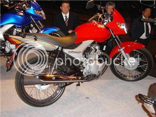 Foto não oficial da Nova Honda Titan modelo 2009