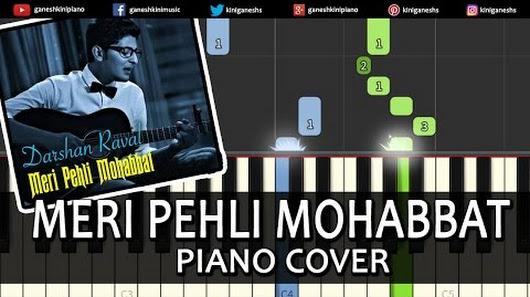 Meri Pehli Mohabbat Darshan Ravalhindi Songpiano Chords Tutorial