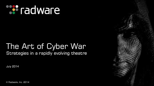 The art of cyber war - Inspiratron by Nikola Milosevic