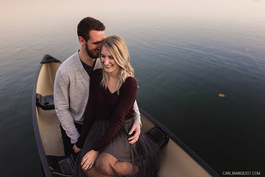 Lake Chaparral Calgary Engagement Photos | Bryan & Michelle