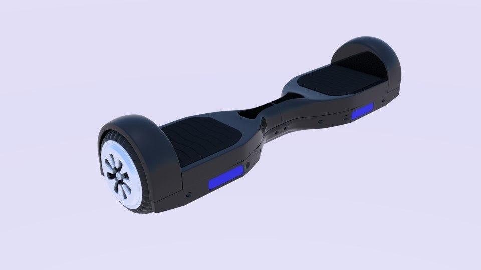 3d electric skateboard