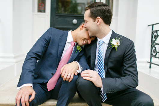 Tom and Julio, a Chelsea Town Hall wedding, London