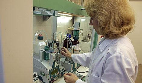 Laboratorio de oncología en una imagen de archivo.| Reuters | Ints Kalnins