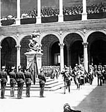 Visita de Alfonso XIII a Toledo el 1 de julio de 1908. Foto ABC