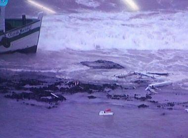 Lancha que fazia travessia Salvador - Mar Grande sofre acidente próximo à Ilha