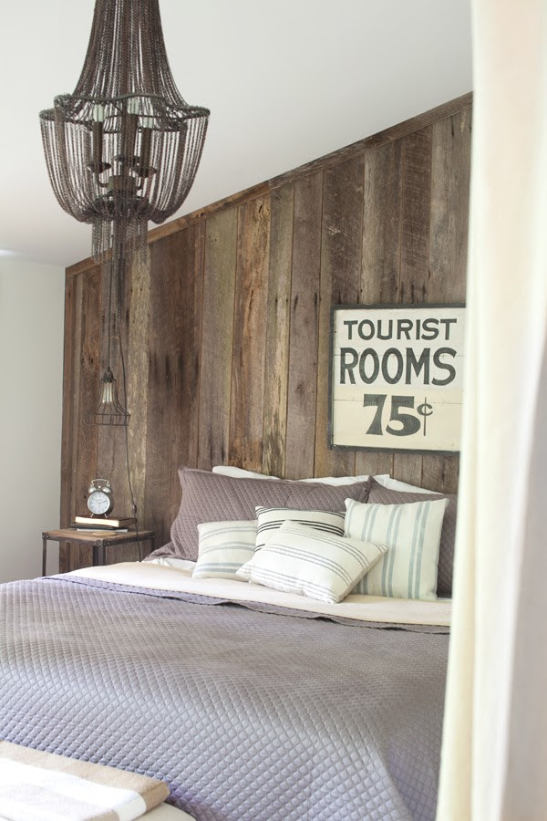 Master Bedroom | Rustic Wood | NEST cabin at Shelter and Roost | Franklin Tennessee