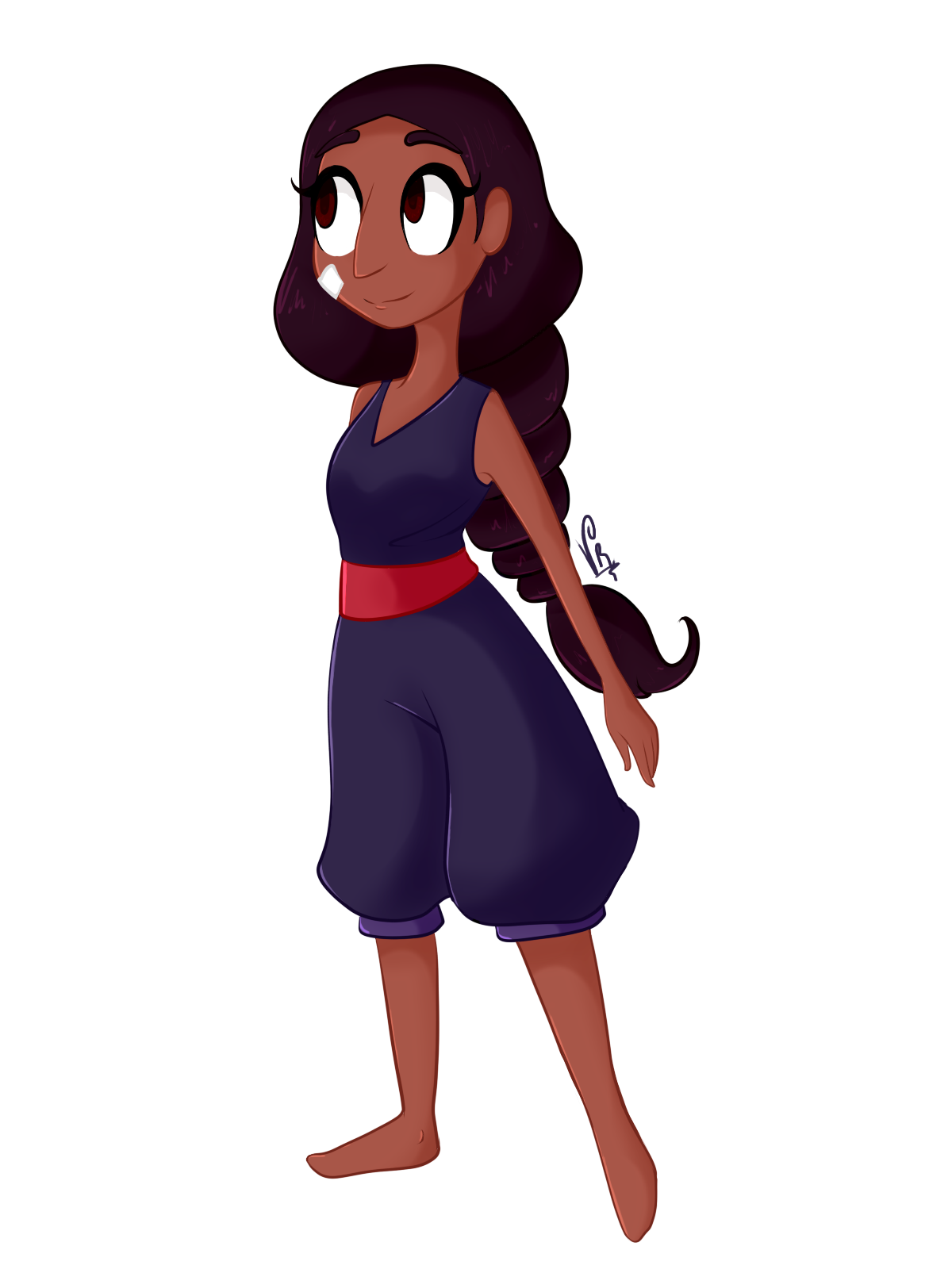 Trying out this new style to colour and stuff. I'm trying to make all the Steven Universe's characters but I don't have time… I have like 7 exams next week so… I guess I'm not gonna be drawing a lot...