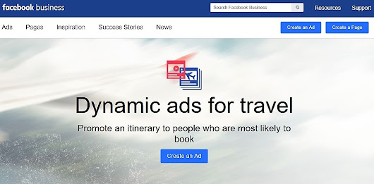 Facebook Updates Dynamic Ads for Travel