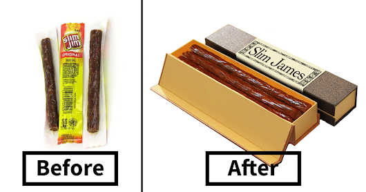 Artist Shows How To Repackage Junk Food So That Hipsters Would Buy It